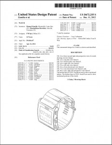 Understanding design patents nicholas wells ip lawyer for Utility patent application template